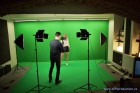 Green screen studio - Videoprodukce a Video Studio Tom Production Praha 04